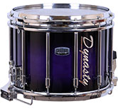 Purple Black Burst Dynasty custom lacquer swatch.