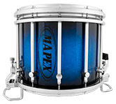 Blue Galaxy Sparkle Burst Mapex custom marching finish.