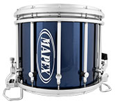 Blue Steel Mapex custom marching finish.