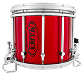 Metallic Red Mapex custom marching finish.