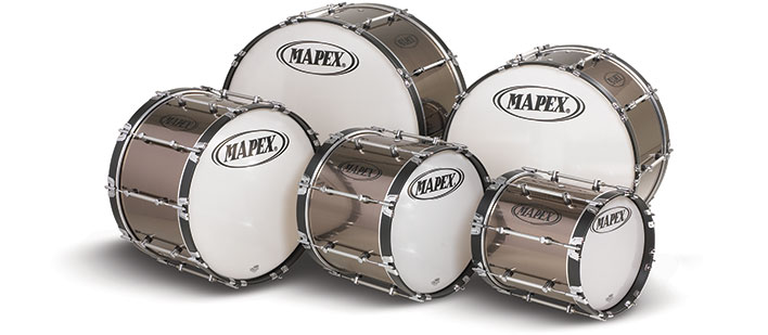 mapex custom marching bass drum marching bass drums marching steve weiss music. Black Bedroom Furniture Sets. Home Design Ideas