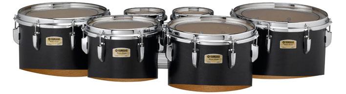 Black Yamaha MQ-8200 multi-toms.