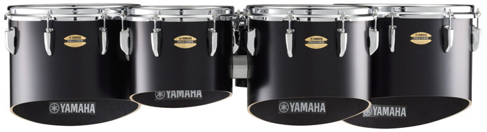 Black Yamaha MQ-8300 multi-toms.