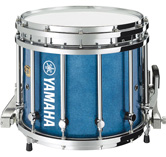 Blue Sparkle custom marching finish.