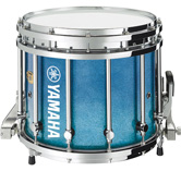 Blue Sparkle Fade custom marching finish.