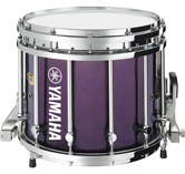 Purple Gloss custom marching finish.