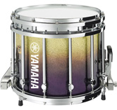 Purple Sparkle Fade custom marching finish.