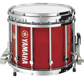 Red Gloss custom marching finish.