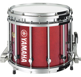 Red Sparkle custom marching finish.