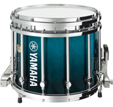 Sea Blue Fade custom marching finish.
