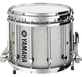 Silver Sparkle custom marching finish.