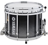 Black Pearl Fade Yamaha custom marching finish.