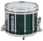 Green Gloss Yamaha custom marching finish.
