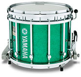 Green Sparkle Yamaha custom marching finish.