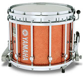 Habanero Sparkle Yamaha custom marching finish.