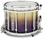 Purple Sparkle Fade Yamaha custom marching finish.
