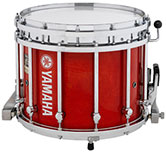 Red Gloss Yamaha custom marching finish.