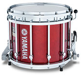 Red Sparkle Yamaha custom marching finish.
