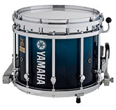 Sea Blue Fade Yamaha custom marching finish.