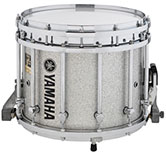 Silver Sparkle Yamaha custom marching finish.