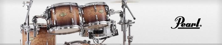 Pearl Masters MCX drum set.