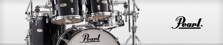 Pearl Reference drums set.