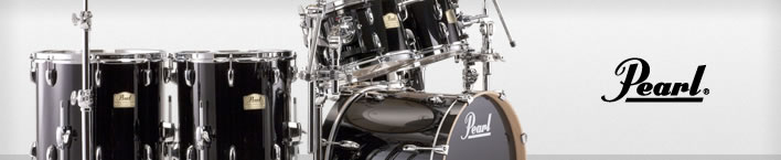 Pearl Session Studio drum set.