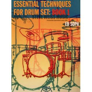 soph essential technique for drumset bk 1 drum set method books