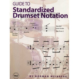 weinberg-guide to standardized drumset notation