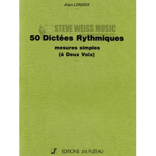 londeix-50 rhythmic exercises in two voices