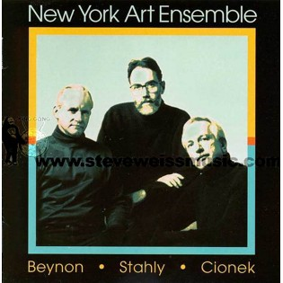new york art ensemble-works of stahly, cionek, beynon (cd)