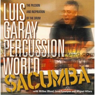 garay-luis garay percussion world: sacumba (cd)