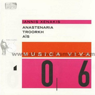 xenakis-anastenaria/troorkh/ais (cd)