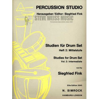 fink-studies for drumset vol. 2-intermediate