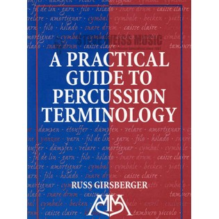girsberger-practical guide to percussion terminology
