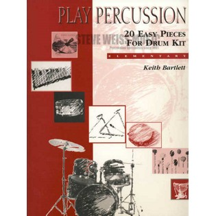 bartlett-20 easy pieces for drum kit