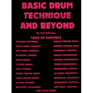 rothman-basic drum technique and beyond