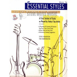 houghton/warrington-essential styles book 2 (w/cd)