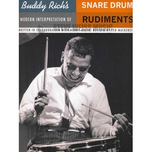rich/adler/mackenzie-buddy rich's modern interpretation of snare drum rudiments