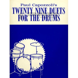 capozzoli-twenty-nine duets for the drums