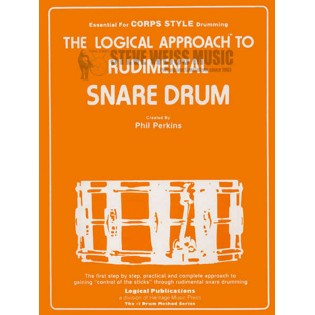 perkins-logical approach to rudimental snare drum