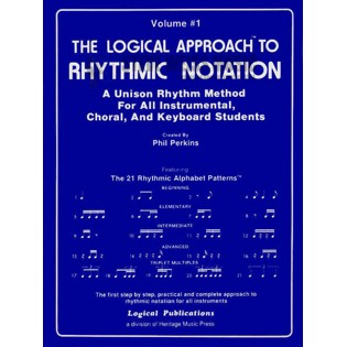 perkins-logical approach to rhythmic notation vol. 1