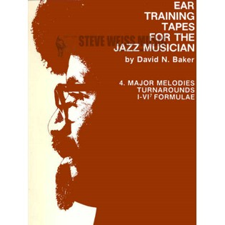 baker-no. 4 ear training tapes for jazz: major melodies