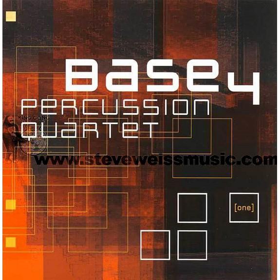 Base4 Percussion Quartet-(one) (CD)