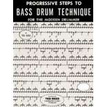 reed-progressive steps to bass drum technique