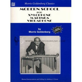 goldenberg-modern school for xylophone, marimba and vibraphone
