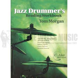 morgan-jazz drummer's reading workbook (2cd)