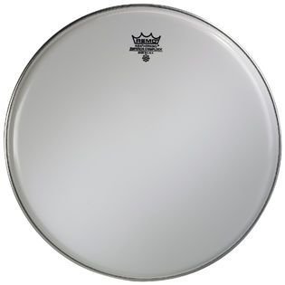 remo smooth white emperor crimplock marching tenor drum head