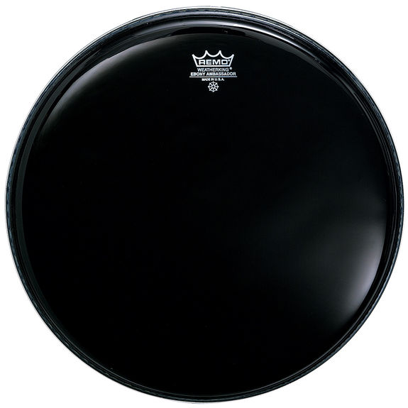 remo ambassador ebony drum head remo drum heads brands steve weiss music. Black Bedroom Furniture Sets. Home Design Ideas