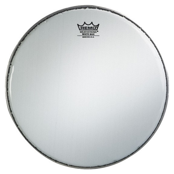 remo white max marching snare drum head marching snare drum heads marching drum heads. Black Bedroom Furniture Sets. Home Design Ideas